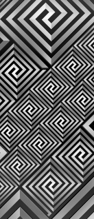 Türtapete - Abstrakt Ornamente | no. 398 - Vorschau 5