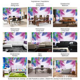 liwwing Vlies Fototapete 312x219cm PREMIUM PLUS Wand Foto Tapete Wand Bild Vliestapete - Blumen Tapete Blume Wasser Wellness Natur bunt - no. 1210 - Vorschau 5