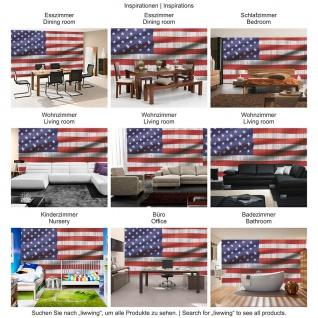 Fototapete Geographie Tapete USA Amerika Flagge Streifen Sterne rot | no. 2624 - Vorschau 3