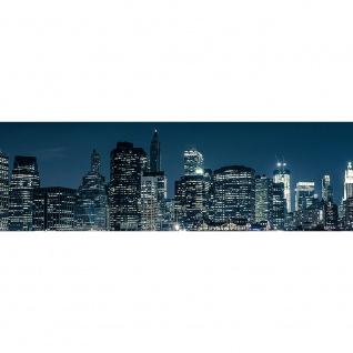 Leinwandbild New York Blue Night Skyline New York City USA Amerika Big Apple | no. 22 - Vorschau 3