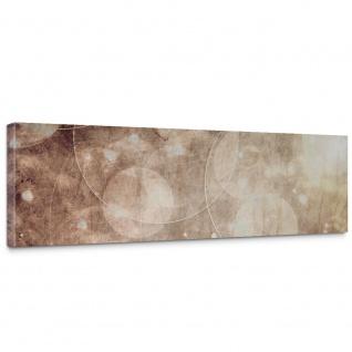 Leinwandbild Abstrakt Seifenblasen Entspannung Beige | no. 193