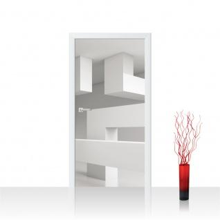Türtapete - Abstrakt Linien Ecken 3D | no. 591