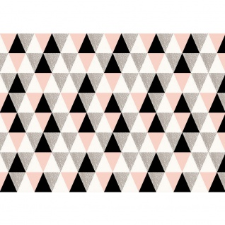 Fototapete Ornamente Tapete Polygone, Dreiecke, Rauten bunt | no. 3407