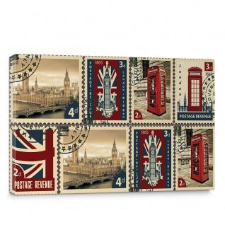 Leinwandbild London UK Big Ben Westminster Brief  no. 5180