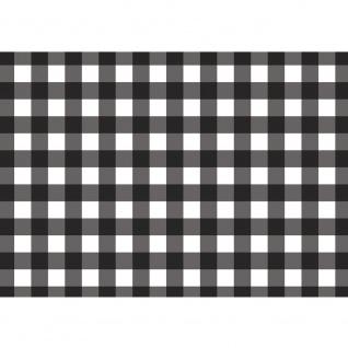 Fototapete Texturen Tapete Pepita, Schachbrett, gewürfelt schwarz - weiß | no. 3452