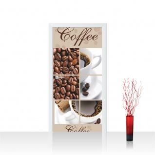 Türtapete - Coffee Bohnen Tasse | no. 297