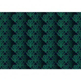 Fototapete Ornamente Tapete Ornamente Muster grün grün   no. 380