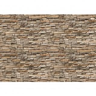 Fototapete Asian Stone Wall Steinwand Tapete Steinwand Steinoptik Stein Steine Wand Wall grau   no. 140