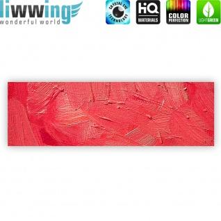 Leinwandbild Wall of pink shades Wand Spachtel Hintergrund farbige Wand pink   no. 109 - Vorschau 4