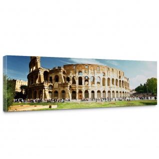 Leinwandbild Rom Kolosseum Italien Landschaft Architektur | no. 249