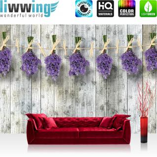 liwwing Vlies Fototapete 208x146cm PREMIUM PLUS Wand Foto Tapete Wand Bild Vliestapete - 3D Tapete Dreiecke Pfeile Spitzen Kunst Tannenbäume 3D Optik grün - no. 1352