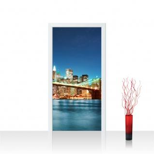 Türtapete - New York City USA Amerika Empire State Building Big Apple | no. 179 - Vorschau 1
