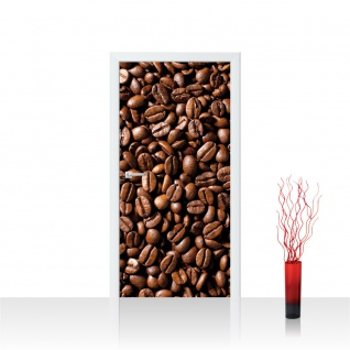 Türtapete - Kaffee Bohnen | no. 521