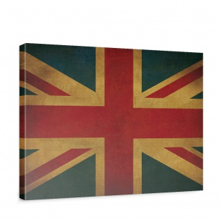 Leinwandbild Union Jack Flagge UK Großbritannien | no. 3449