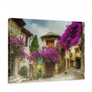 Leinwandbild Frankreich Province Straße Romantisch | no. 226