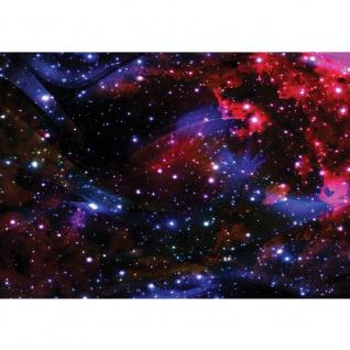 Fototapete Welt Tapete Weltall Weltraum Kosmos Sterne Licht blau | no. 2216