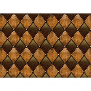 Fototapete Kunst Tapete Abstrakt Design Modern Lederoptik Wand braun | no. 1528
