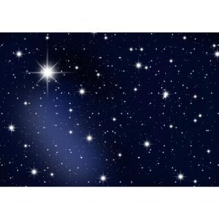 liwwing Vlies Fototapete 350x245 cm PREMIUM PLUS Wand Foto Tapete Wand Bild Vliestapete - A MILLION STARS - Sternenhimmel Stars Sterne Leuchtsterne Nachthimmel- no. 028 - Vorschau 2