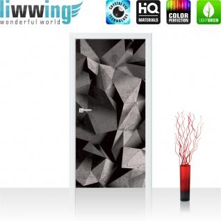 Türtapete - Abstrakt Rechtecke 3D Optik | no. 894 - Vorschau 2