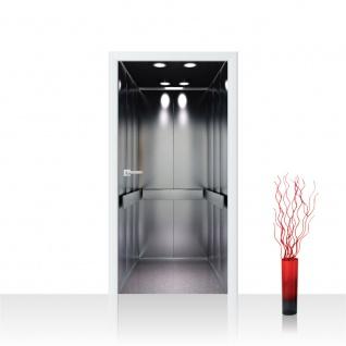 Türtapete - Sonstiges Aufzug Lift Fahrstuhl | no. 4289