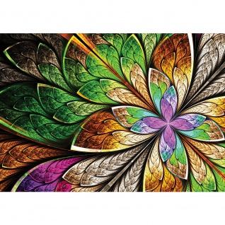 Fototapete Kunst Tapete Design Blumen Muster Farben bunt | no. 3053