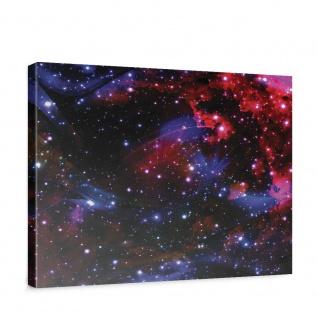 Leinwandbild Weltall Weltraum Kosmos Sterne Licht | no. 2216