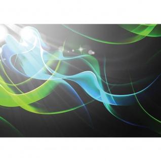 Fototapete Kunst Tapete Streifen Nebel Bewegung Schwung Licht Strahlen schwarz | no. 1373