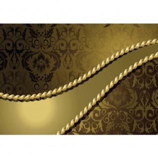 Fototapete Ornamente Tapete Ornamente Seil Barock Gold Edel gold   no. 276