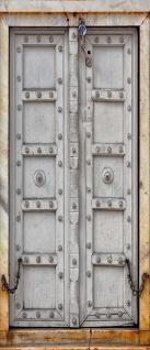 Türtapete - Sonstiges Tür Holz Antik Alt Kette | no. 4283 - Vorschau 5