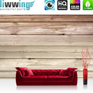 liwwing Vlies Fototapete 208x146cm PREMIUM PLUS Wand Foto Tapete Wand Bild Vliestapete - 3D Tapete Bubble Formen weiß - no. 1543