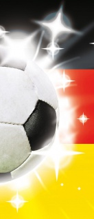 Türtapete - Fussball Ball Sterne Deutschland | no. 1036 - Vorschau 5