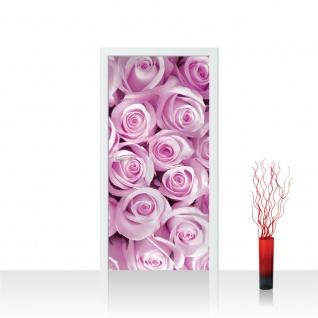 Türtapete - Rosen Blumen Blüten Pflanze | no. 363