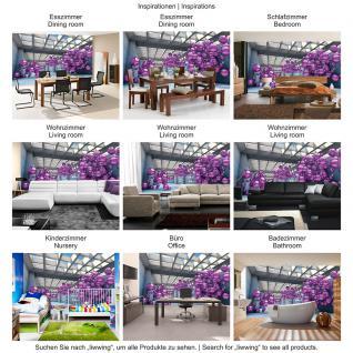 liwwing Vlies Fototapete 208x146cm PREMIUM PLUS Wand Foto Tapete Wand Bild Vliestapete - Architektur Tapete Arkaden Seifenblasen Kugeln bunt - no. 3246 - Vorschau 5