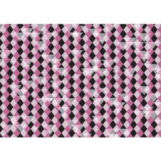 Fototapete Illustrationen Tapete Abstrakt Rechtecke klein Dreiecke Formen bunt Muster Illustrationen lila | no. 396