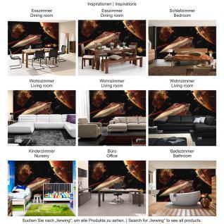 liwwing Vlies Fototapete 208x146cm PREMIUM PLUS Wand Foto Tapete Wand Bild Vliestapete - Kindertapete Tapete STAR WARS Kindertapete Action Raumschiff Planeten schwarz - no. 1983 - Vorschau 5