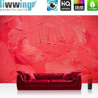 liwwing Vlies Fototapete 400x280 cm PREMIUM PLUS Wand Foto Tapete Wand Bild Vliestapete - WALL OF PINK SHADES - Abstrakt Hintergrund Dekoration Wand Spachtel farbige Wand pink rosa - no. 109