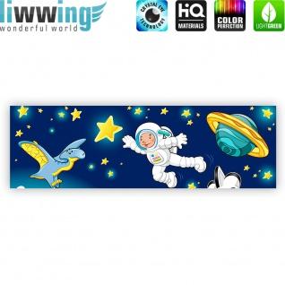 Leinwandbild Little Space Explorers Weltraum Star Weltall Kosmonaut Mond Sterne   no. 89 - Vorschau 4