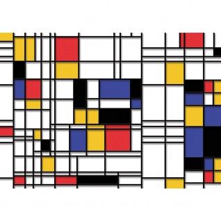 Fototapete Kunst Tapete Kacheln Linien Muster Abstrakt bunt | no. 2269