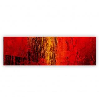 Leinwandbild Paint it Red abstrakt 3D Wand Rot braun Hintergrund   no. 103 - Vorschau 2
