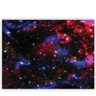 Leinwandbild Weltall Weltraum Kosmos Sterne Licht   no. 2216 - Vorschau 2