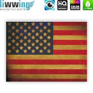 Leinwandbild Star Spangled Banner Flagge USA Amerika | no. 3451 - Vorschau 4