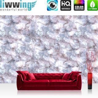 liwwing Vlies Fototapete 312x219cm PREMIUM PLUS Wand Foto Tapete Wand Bild Vliestapete - Steinwand Tapete Steinoptik Stein Marmor Muster grau - no. 2441