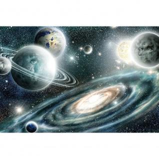 Leinwandbild Weltraum Planeten Kosmos Saturn Sonnensystem | no. 5668 - Vorschau 3