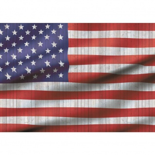 Fototapete Geographie Tapete USA Amerika Flagge Streifen Sterne rot | no. 2624 - Vorschau 1