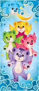 Türtapete - Kindertapete Cartoon Bären Herzen Flügel   no. 1048 - Vorschau 5