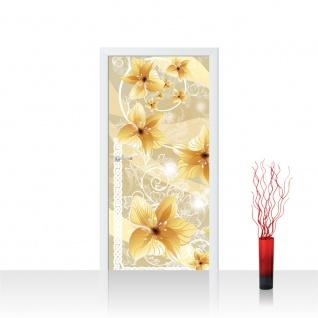 Türtapete - Ornamente Orchideen   no. 343