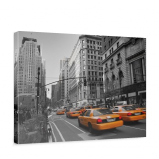 Leinwandbild Manhattan Skyline Taxis City Stadt | no. 194