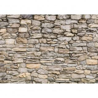 Fototapete Steinwand Tapete Steinwand Steinoptik Steine Wand Mauer Steintapete beige | no. 166