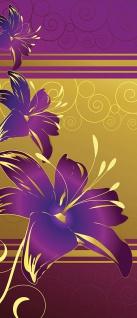 Türtapete - Abstrakt Ornamente Blumen | no. 573 - Vorschau 5