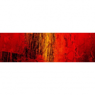 Leinwandbild Paint it Red abstrakt 3D Wand Rot braun Hintergrund   no. 103 - Vorschau 3
